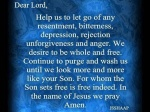 Prayer of Freedom...